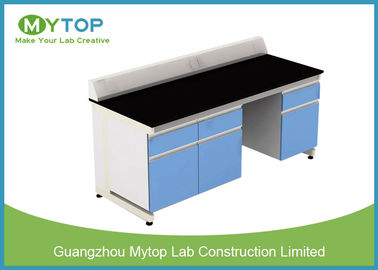 University Laboratory Furniture With Black Granite Worktop Adjustable Height